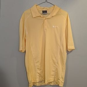 Nike Men's Dri-Fit® Performance Golf Polo-Yellow